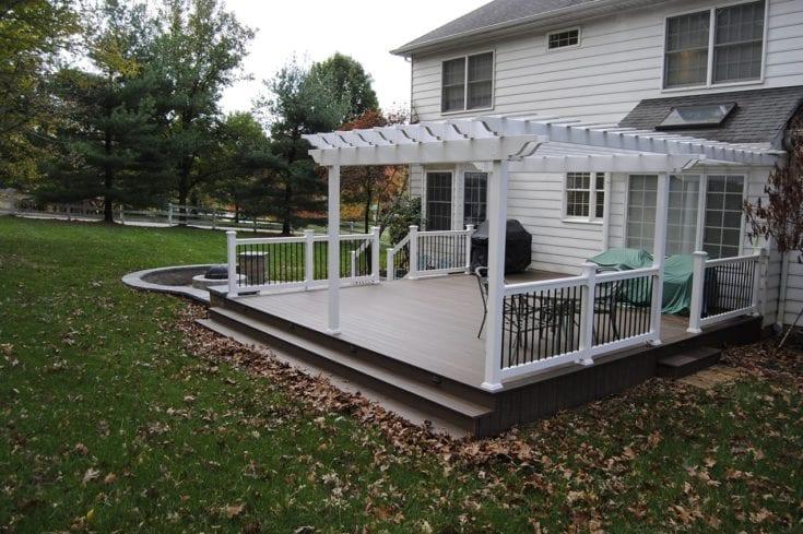 Custom TimberTech Deck/Patio, Phoenixville PA