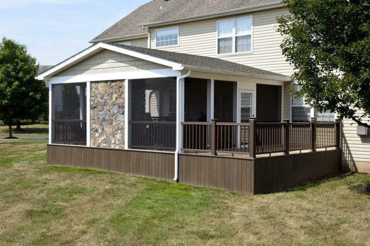 Custom Deck/Screened Porch, Collegeville PA