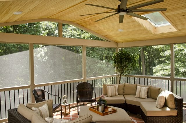 Custom Timber Tech Deck/Screened in Porch, Hockessin DE