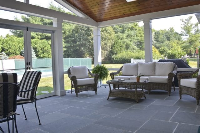 Custom Screened in Patio, Blue Ball PA