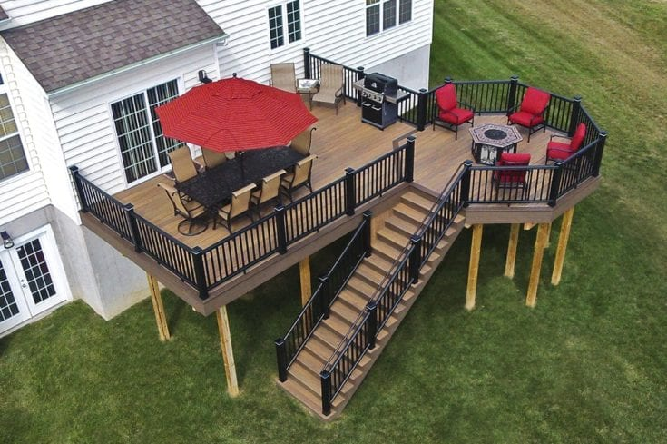 Custom TimberTech Deck, Downingtown PA