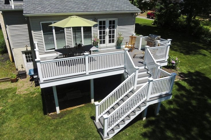 Custom TimberTech Deck, Newtown Square PA