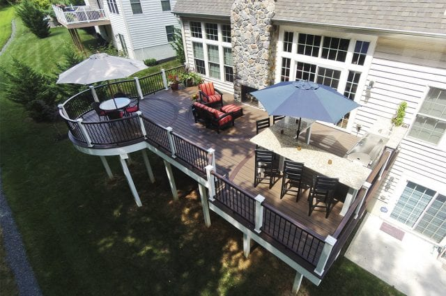Custom Trex Deck, Wilmington DE