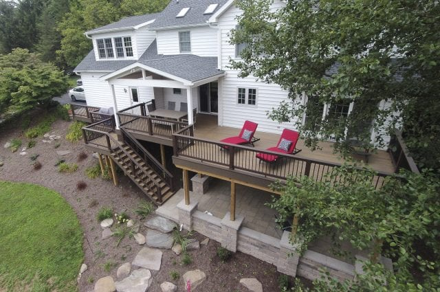 Custom TimberTech Deck/Porch, York PA