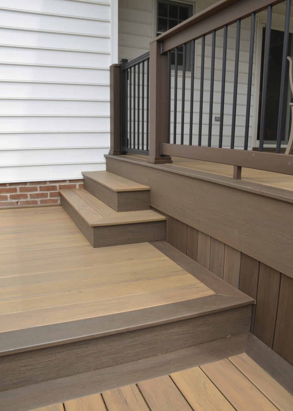 custom timbertech deck and porch in york pa
