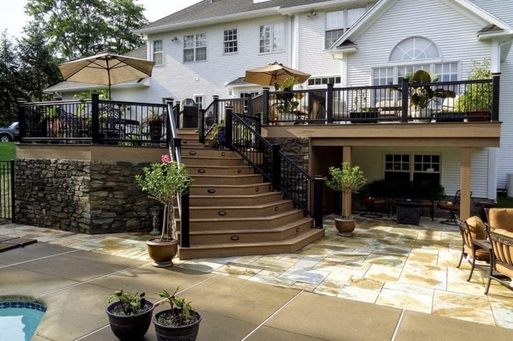 Custom TimberTech Deck/Patio, Pittsford NY