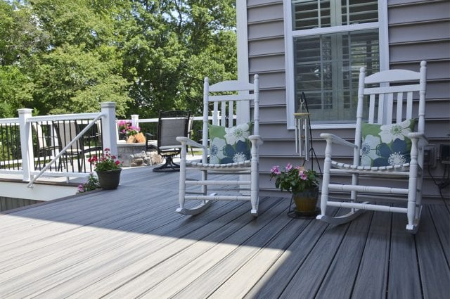 island mist color deck in downingtown pa