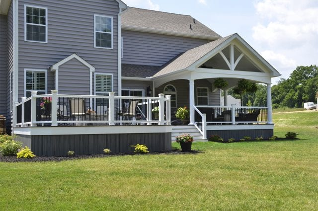 Custom Trex Deck/Porch, Downingtown PA