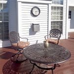 custom timbertech deck in pittsford ny