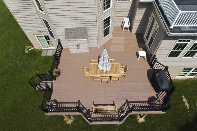 custom azek deck downingtown pa