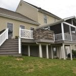 porch and deck combination in mount joy pa