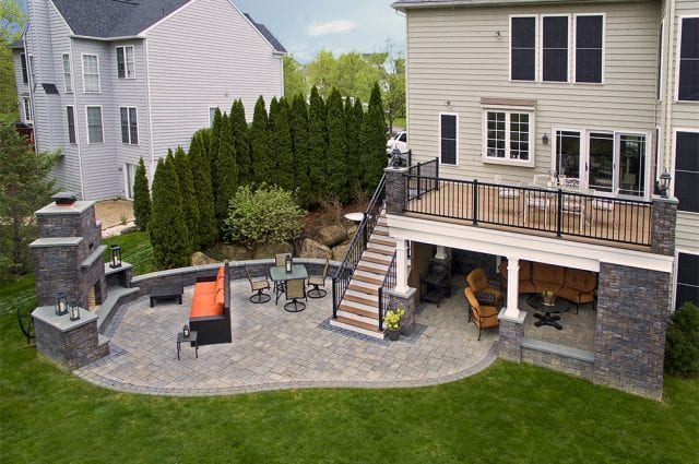 custom deck and patio in west chester pa