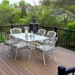 timbertech pecan composite deck