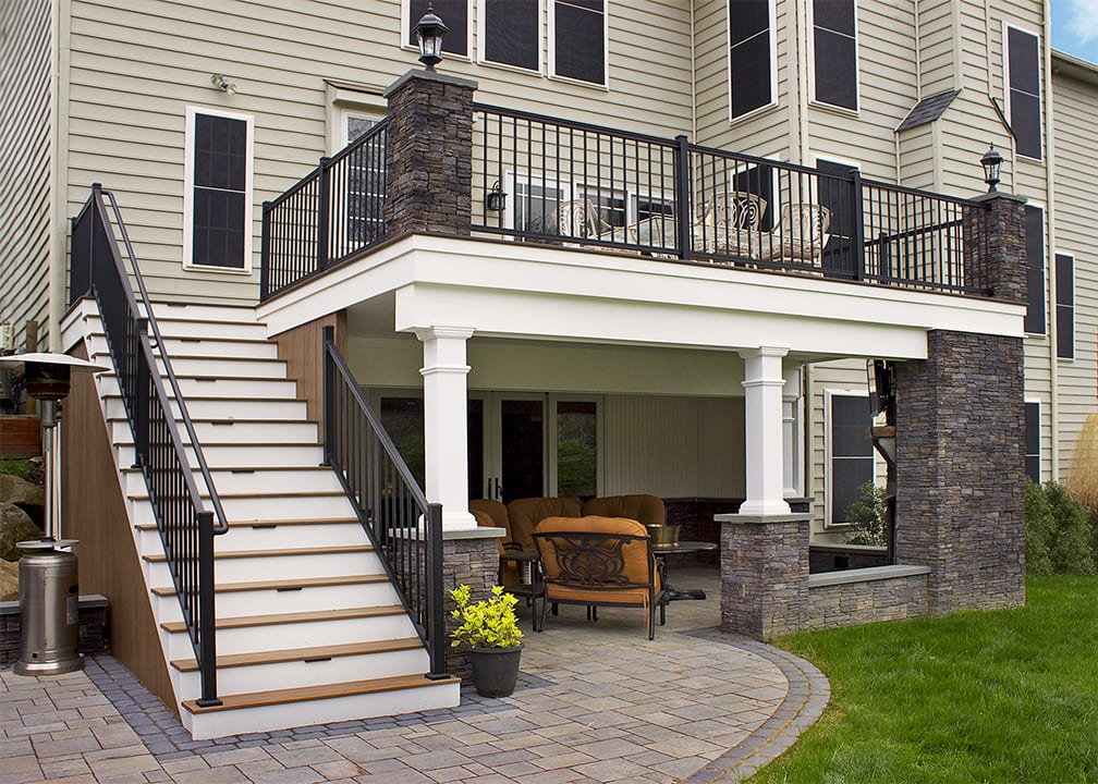 Elevated Deck Designs Safety Features