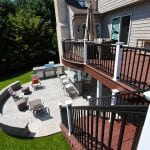 custom deck and patio