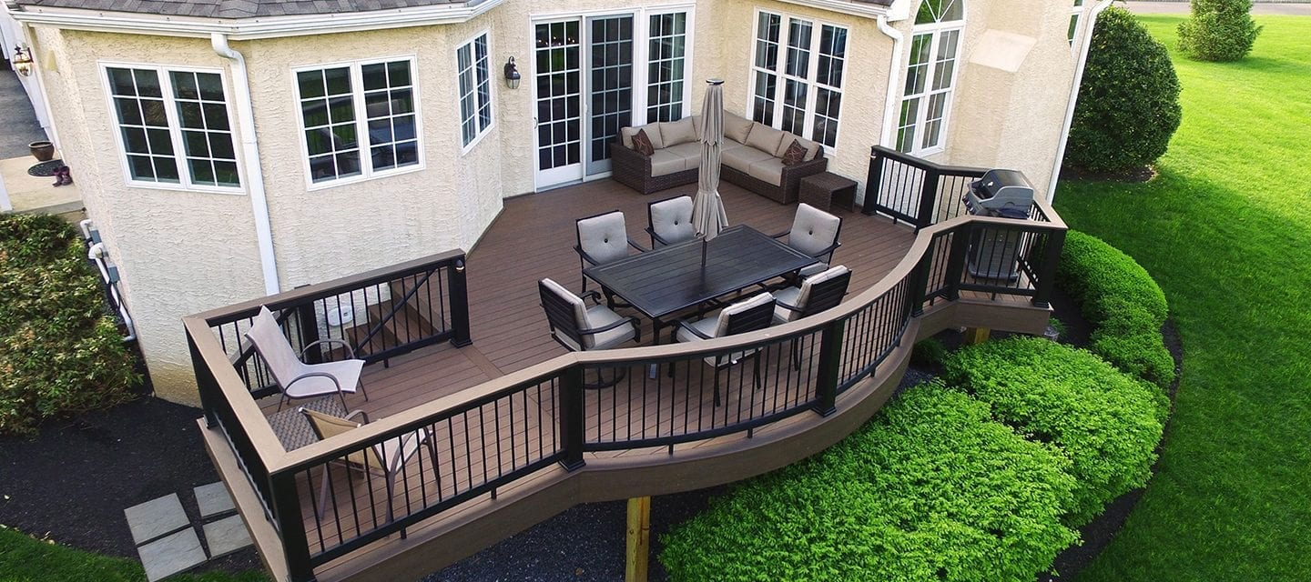 Beautiful composite deck
