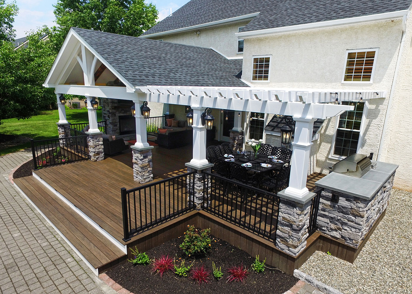 Deck Builders in PA, DE, MD | Outdoor Living Spaces & Products on Unique Outdoor Living id=95869