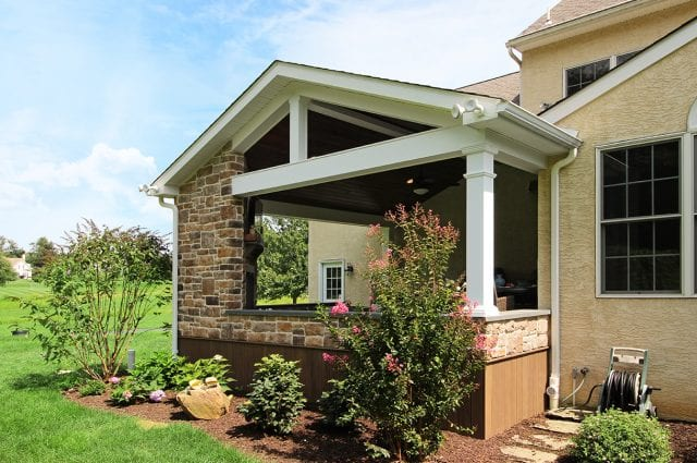 Custom TimberTech Deck/Porch – Chester Springs, PA