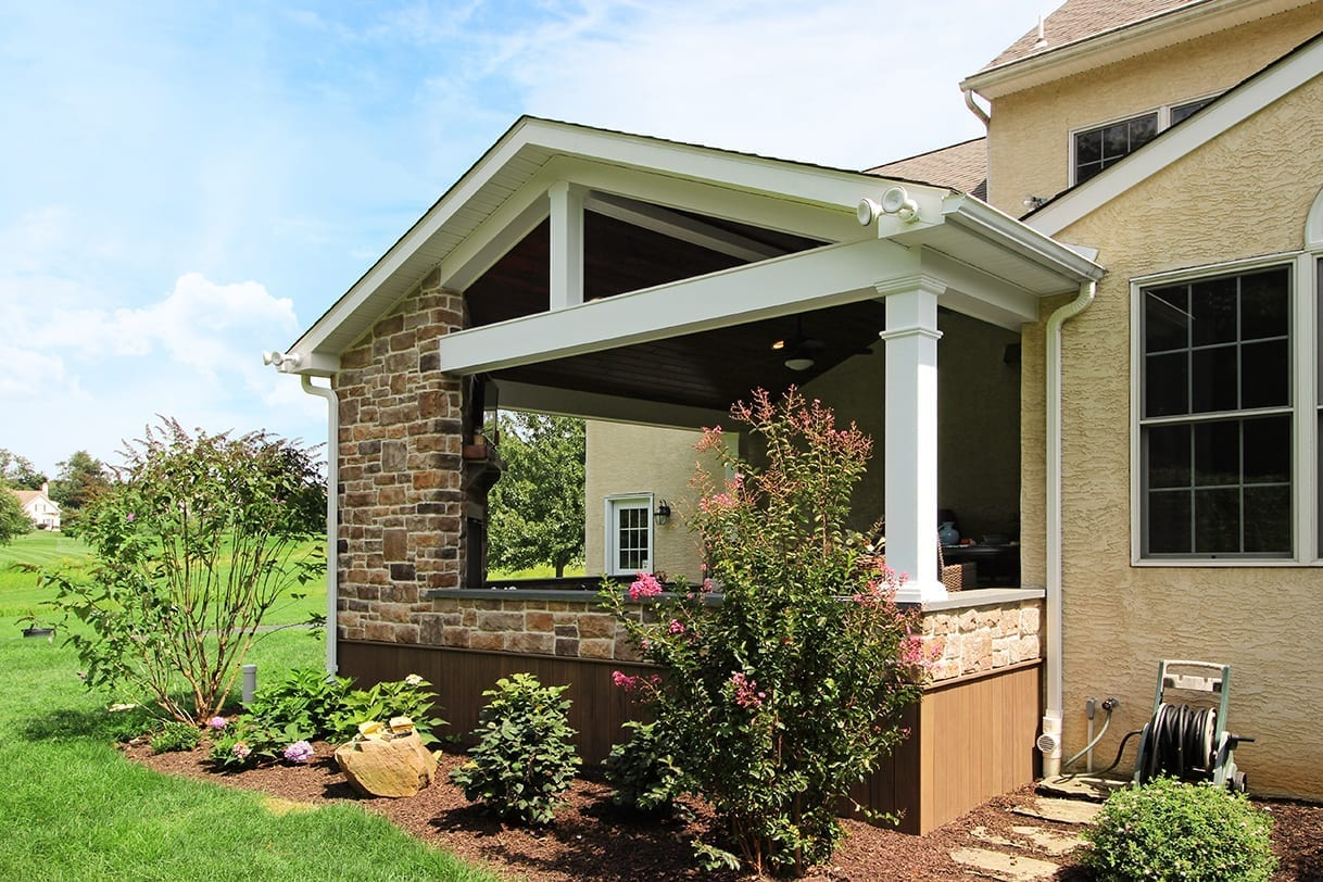 Custom TimberTech Deck/Porch - Chester Springs, PA 1