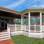 Gandhi - Timbertech deck and porch - Gazebo style