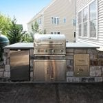 Keller - Outdoor kitchen and grill space