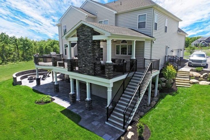 Custom TimberTech Deck / Porch – Lansdale, PA