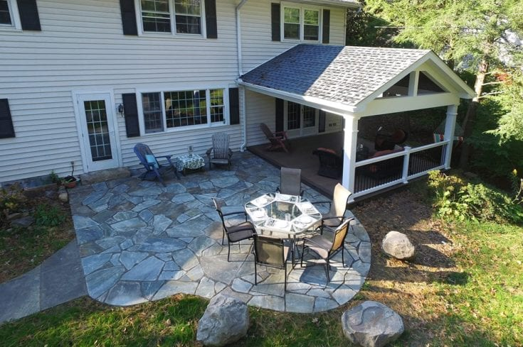 Custom TimberTech Deck / Porch / Patio – Lancaster, PA