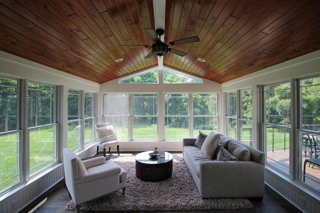 Bucci - Sunroom with synergy pine
