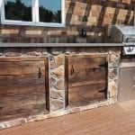 Bucci - Timbertech deck with Kitchen with barnwood