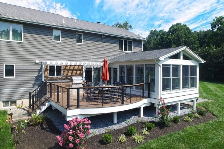 Antique Palm TimberTech Deck – Chadds Ford, PA