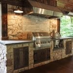 Mattice - TimberTech Porch with kitchen