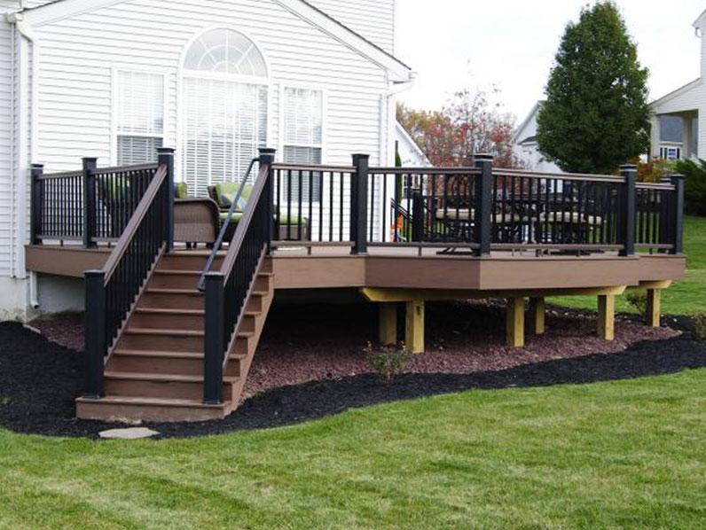 quality keystone custom deck
