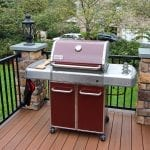Beck - TimberTech deck with grill bumpout