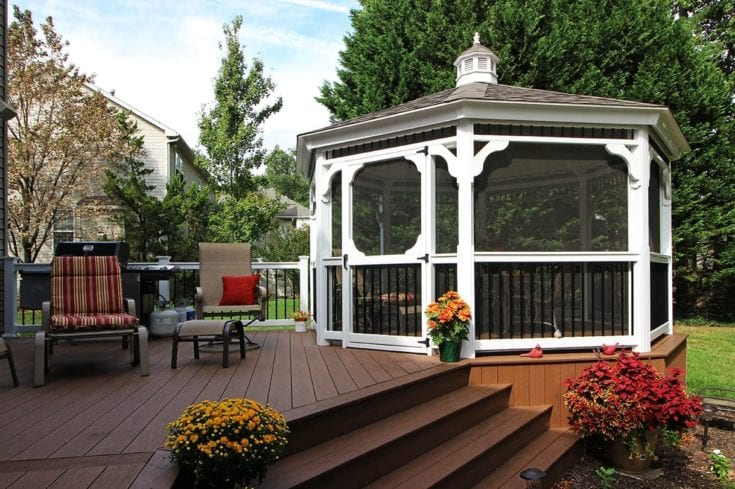 Custom TimberTech Deck / Gazebo – Wilmington, DE