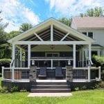 Massey - Trex island mist deck and porch