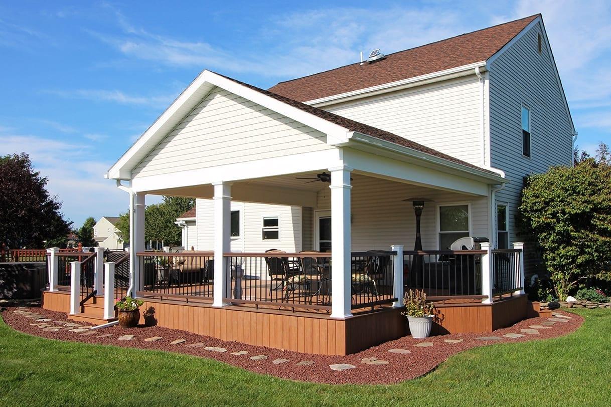 Custom TimberTech Deck / Porch - Warrington, PA 1