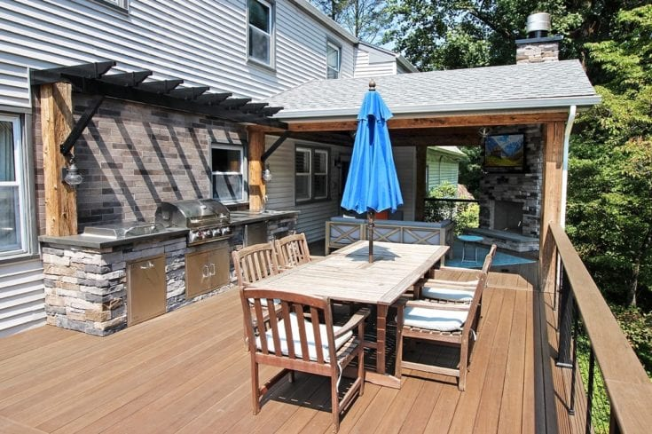 TimberTech Deck / Porch / Outdoor Kitchen – Rose Valley, PA