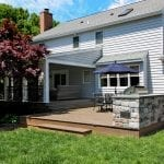 Houp - TimberTech deck with porch