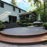 timbertech two tier deck porch patio downingtown pa