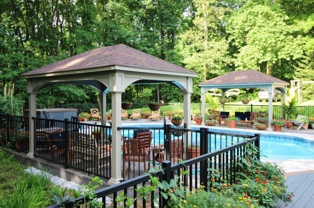 patio with pavilion downingtown pa