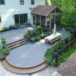 timbertech decking porch patio downingtown pa