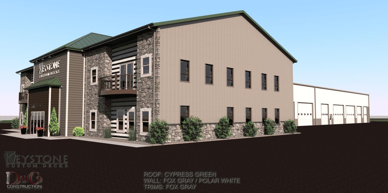 keystone custom decks facility