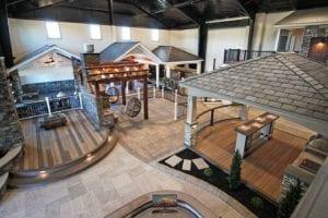 keystone custom decks inspiration center