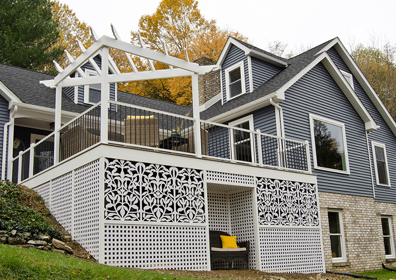 Decks With Pergolas Idea Gallery 5 Pergola Designs For Decks Patios