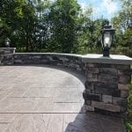 Custom Amazon Mist TimberTech Deck and paver patio Collegeville, PA