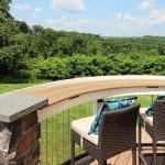 Custom Tigerwood TimberTech Deck with overlook Leesport, PA