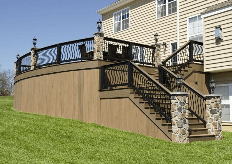 deck post lighting
