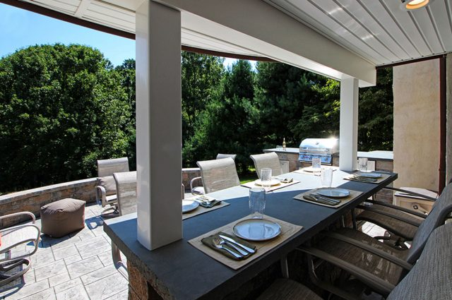 Decked Out: Built-in Deck Seating, Grills, & Other Add-Ons