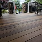 Berghuis - mocha, pecan, and tigerwood Timbertech decking