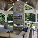 Malloy - rolling rock arcadian ashlar stone veneer fire place